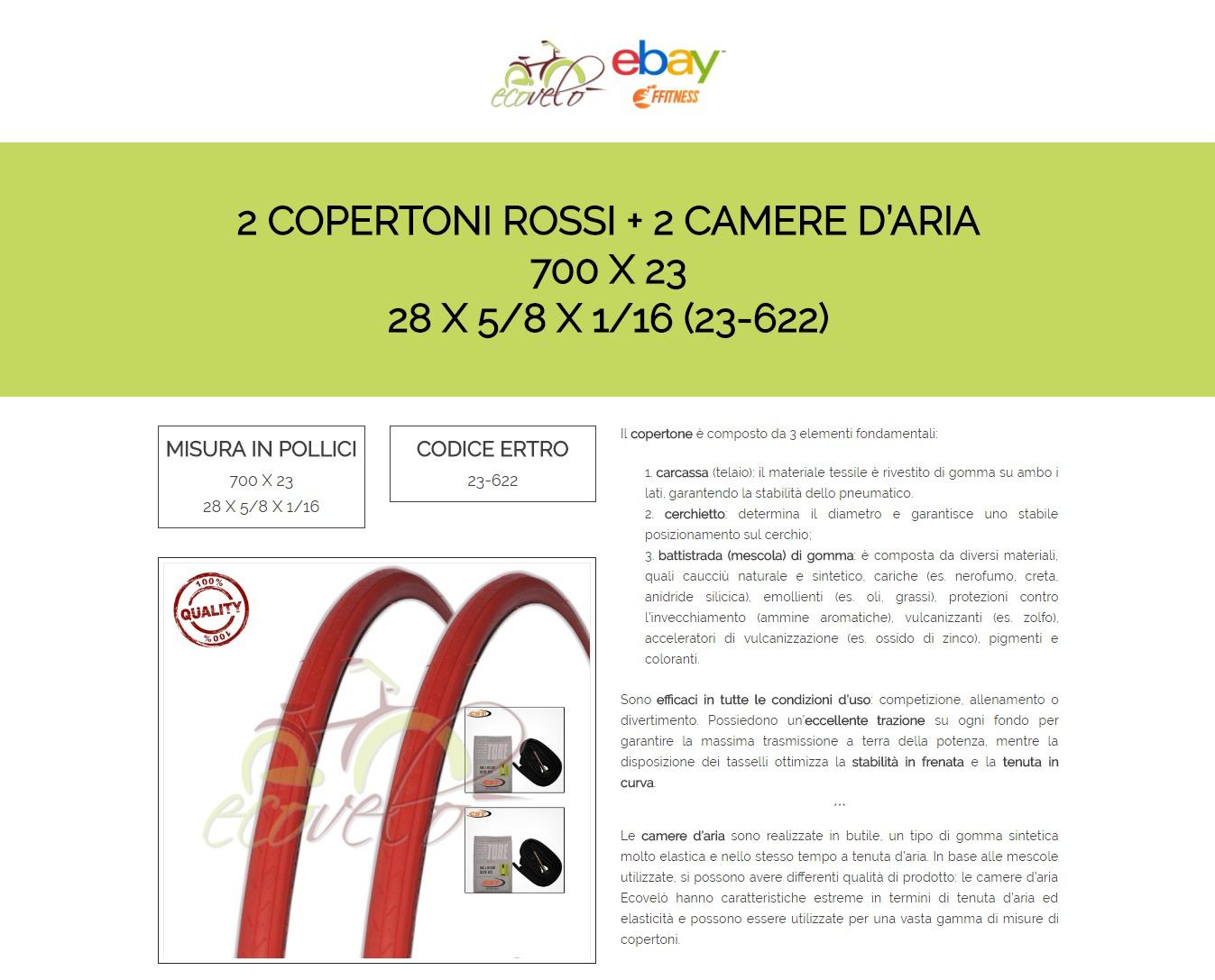 Colori Per La Camera fietsonderdelen sport en vakantie multipla 2 copertoni 2