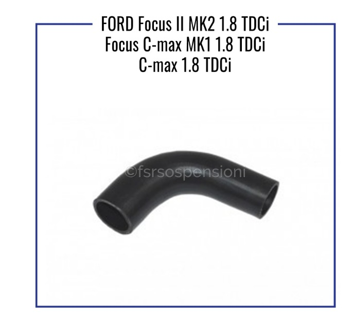 TUBO TURBO 4M516K863BE,1496238,4M516K863BC FORD FOCUS II//C MAX I 1.8 TDCI